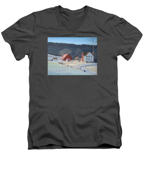 In The Winter Of My Life Men's V-Neck T-Shirt by Norm Starks