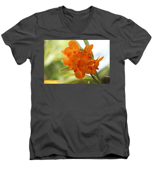 Men's V-Neck T-Shirt featuring the photograph In This World by Michiale Schneider