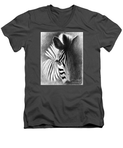 Incognito Men's V-Neck T-Shirt by Phyllis Howard