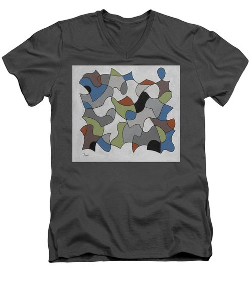 Incognito Men's V-Neck T-Shirt