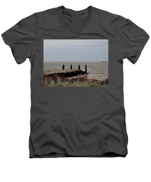 Incoming Freedom  Men's V-Neck T-Shirt