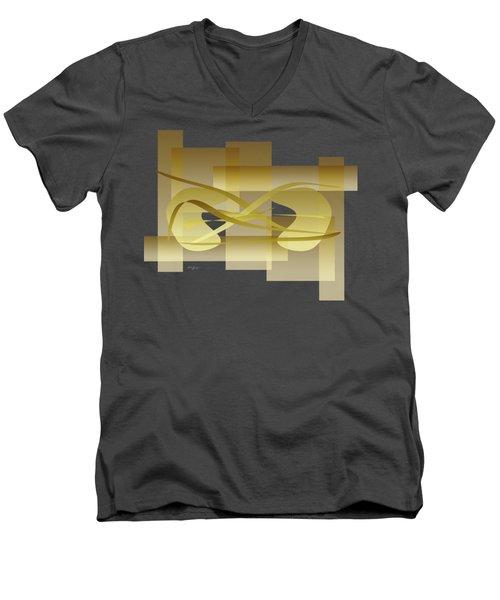 Incommunication Men's V-Neck T-Shirt