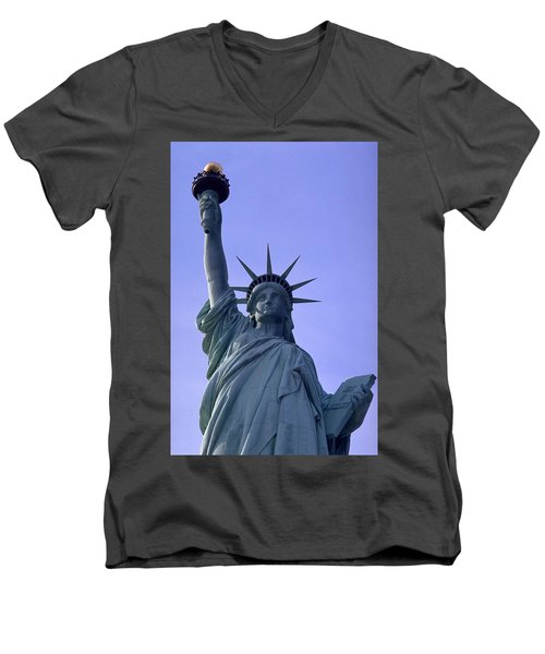 Independence Day Usa Men's V-Neck T-Shirt