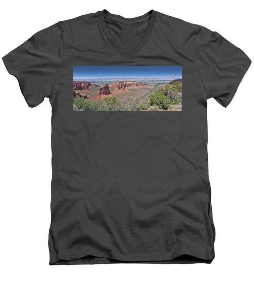 Independence Pano Men's V-Neck T-Shirt