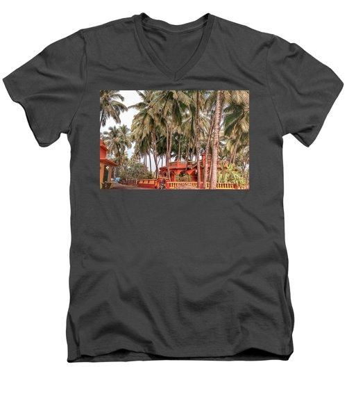 India House Men's V-Neck T-Shirt