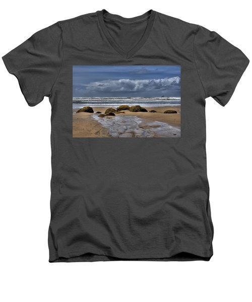 Indian Beach Men's V-Neck T-Shirt