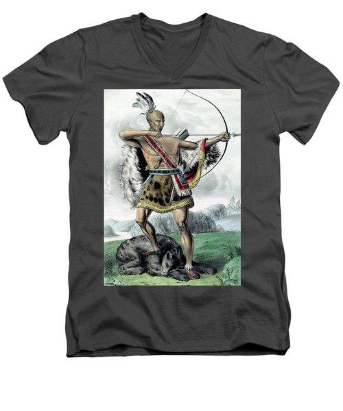 Indian Hunter Men's V-Neck T-Shirt