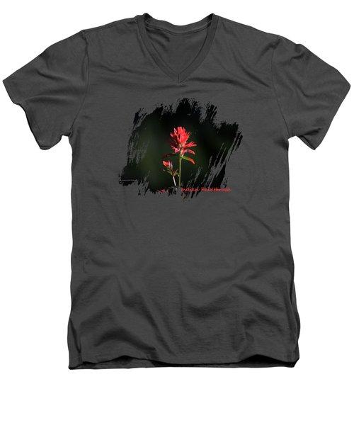 Indian Paintbrush 3 Men's V-Neck T-Shirt