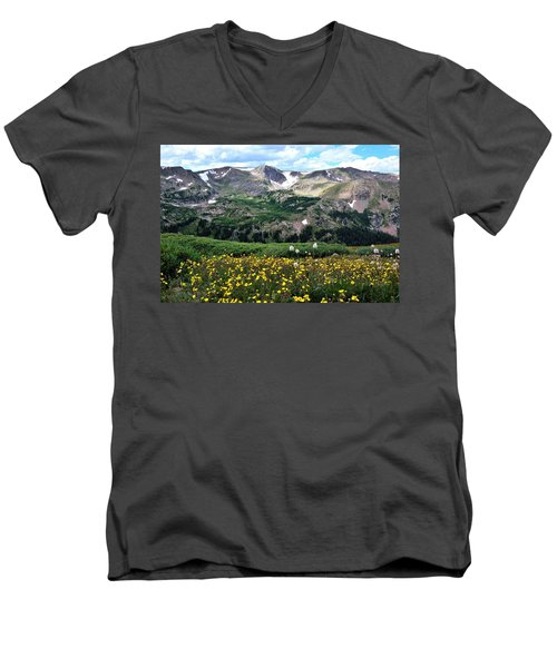 Indian Peaks Wilderness Men's V-Neck T-Shirt
