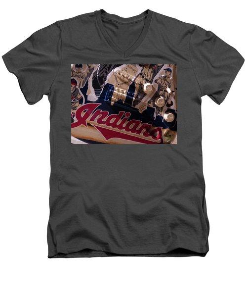 Indians Rock Men's V-Neck T-Shirt