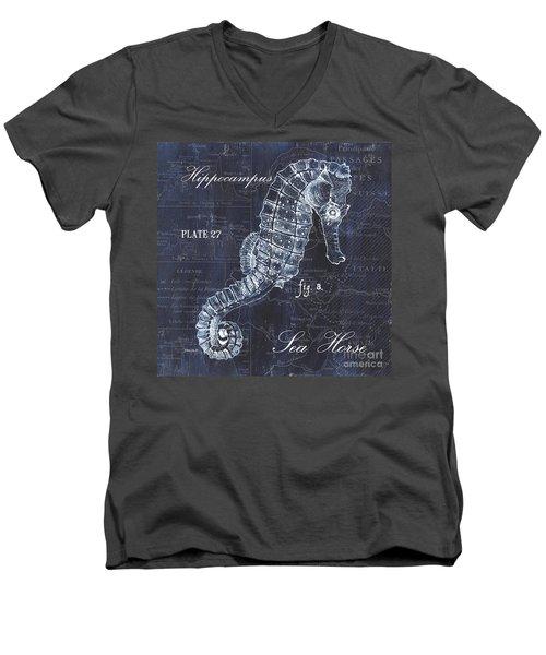 Indigo Verde Mar 1 Men's V-Neck T-Shirt