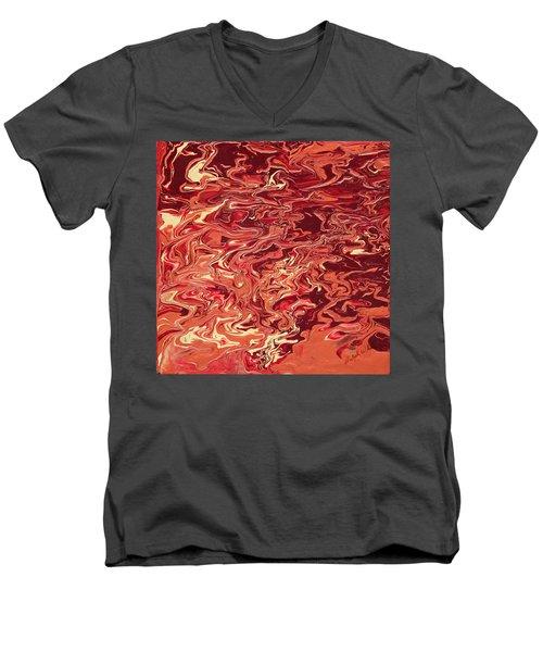 Indulgence Men's V-Neck T-Shirt by Ralph White