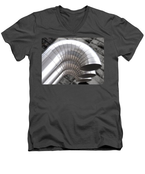 Industrial Air Ducts Men's V-Neck T-Shirt