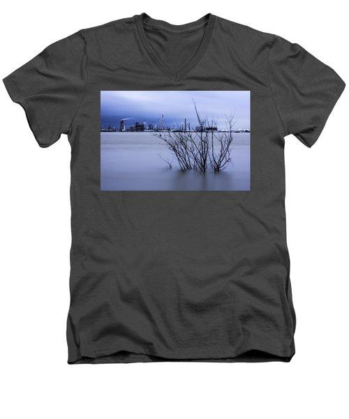 Industry In Color Men's V-Neck T-Shirt
