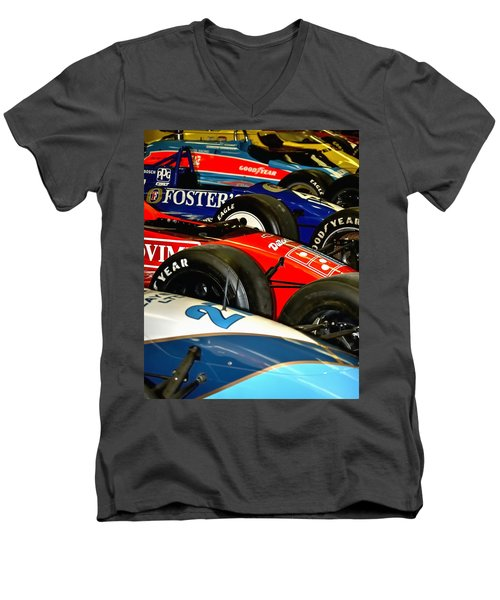 Indy Past 21170 Men's V-Neck T-Shirt