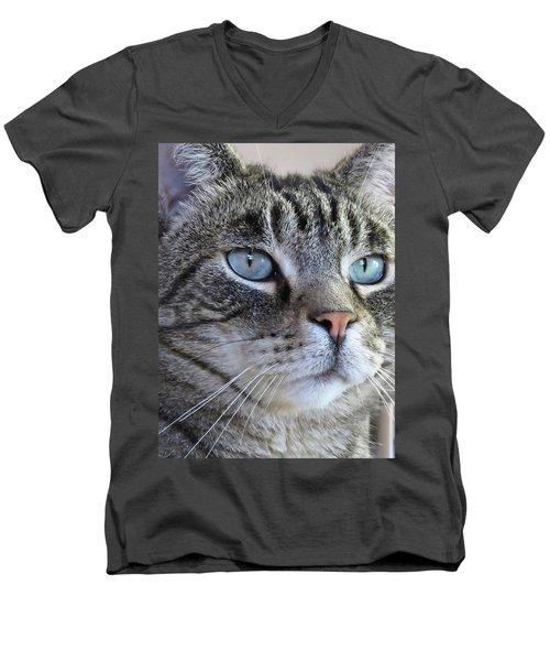 Indy Sq. Men's V-Neck T-Shirt