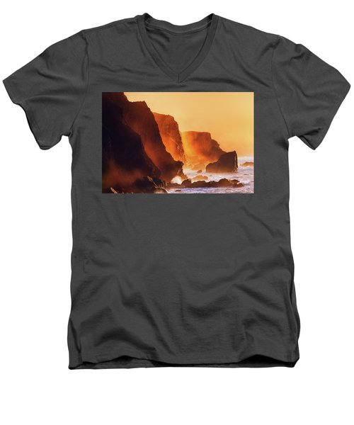 Inferno Men's V-Neck T-Shirt
