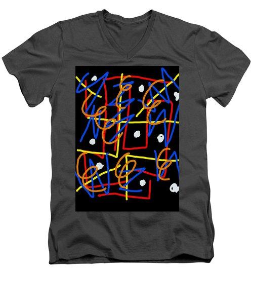 Infest The Cranium Men's V-Neck T-Shirt