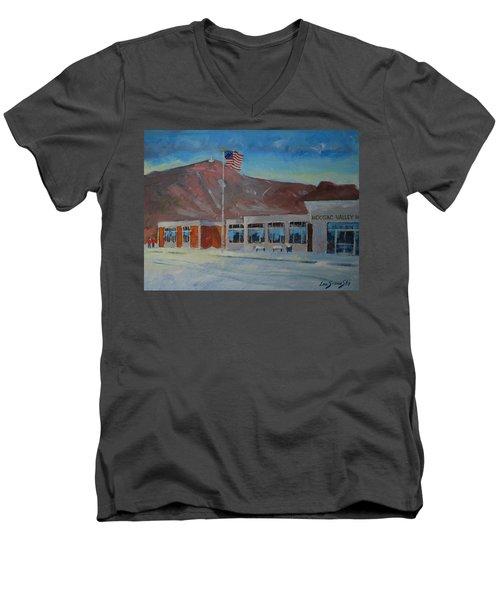 Infinite Horizons Men's V-Neck T-Shirt by Len Stomski