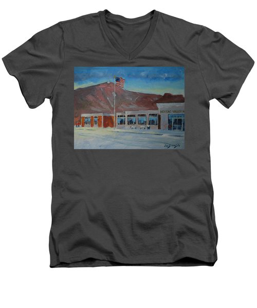 Infinite Horizons Men's V-Neck T-Shirt