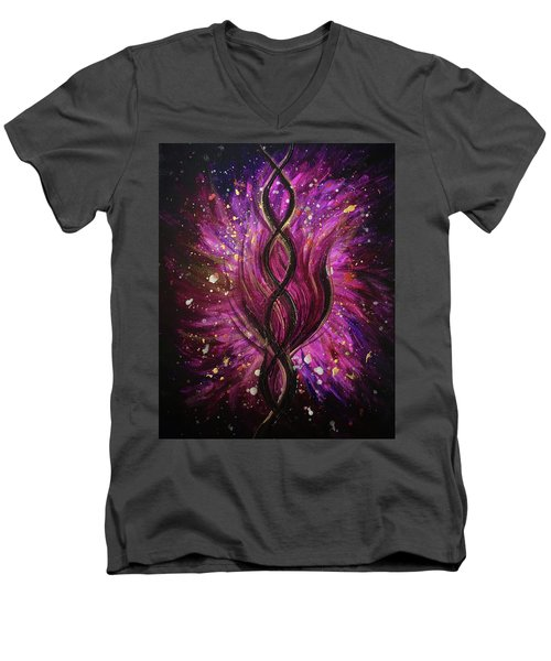 Infinite Love Men's V-Neck T-Shirt
