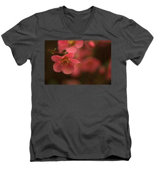 Infinite Pink Men's V-Neck T-Shirt