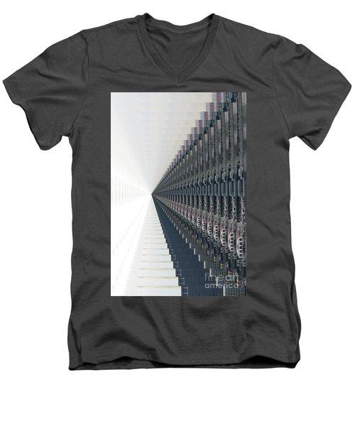 Infinite Possibilities _singapore Men's V-Neck T-Shirt