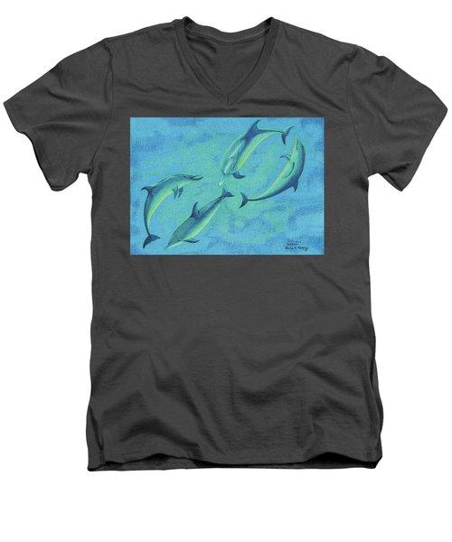 Infinity 2  Men's V-Neck T-Shirt