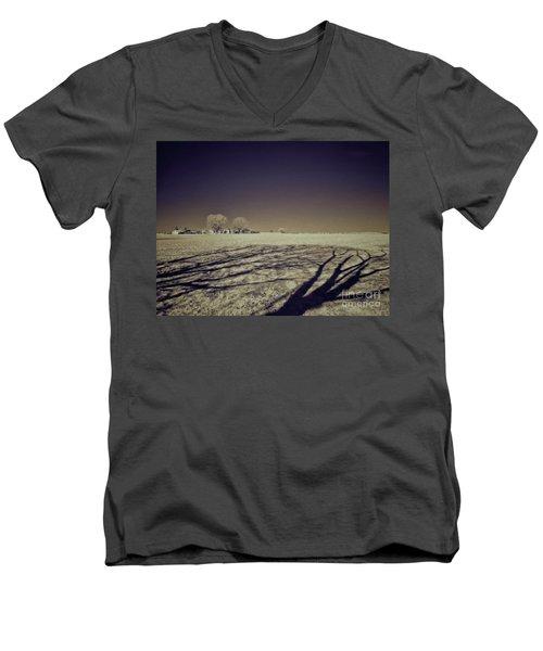 Infrared Landscape Lancaster Pa Men's V-Neck T-Shirt