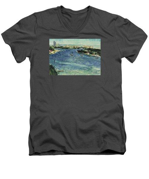 Inlet Men's V-Neck T-Shirt