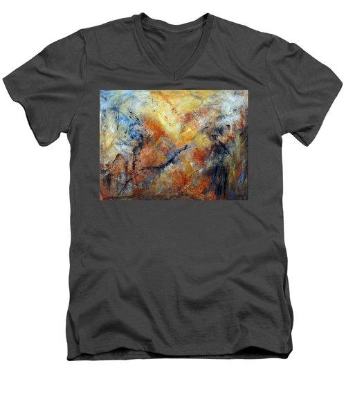 Inner Depth Men's V-Neck T-Shirt