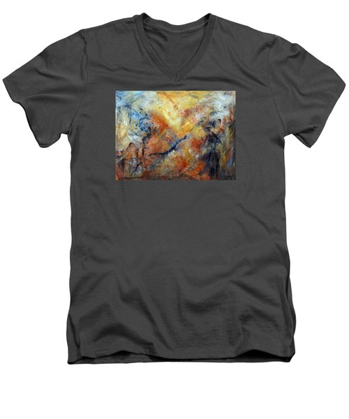 Inner Depth Men's V-Neck T-Shirt