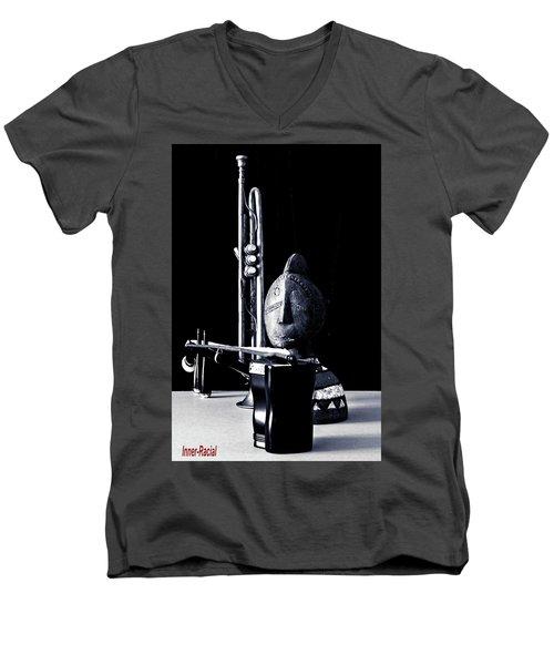 Inner Racial Men's V-Neck T-Shirt