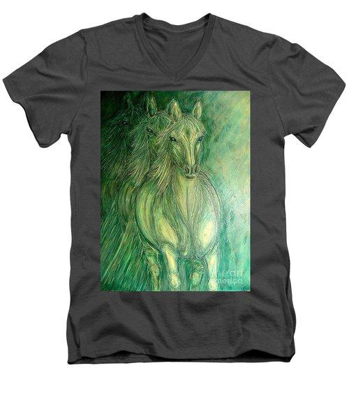 Inner Spirit Men's V-Neck T-Shirt