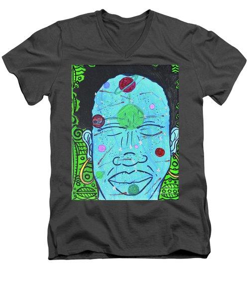 Inner-stellar Space Men's V-Neck T-Shirt