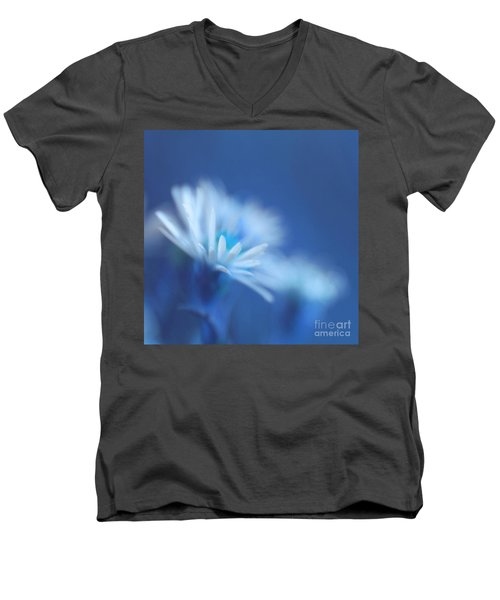 Innocence 11b Men's V-Neck T-Shirt by Variance Collections