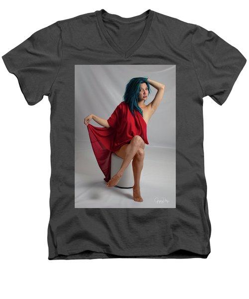 Inquisitive Maxina Men's V-Neck T-Shirt