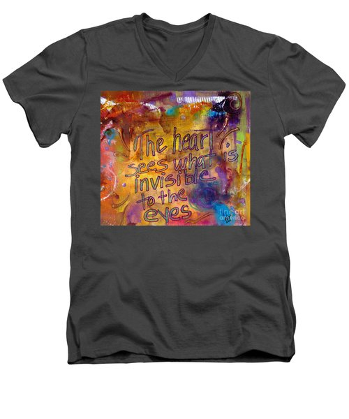 Inside Out Men's V-Neck T-Shirt