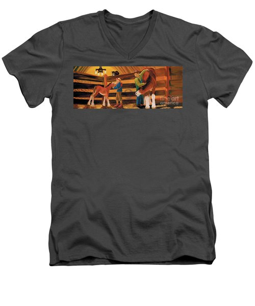 Inside The Barn Men's V-Neck T-Shirt