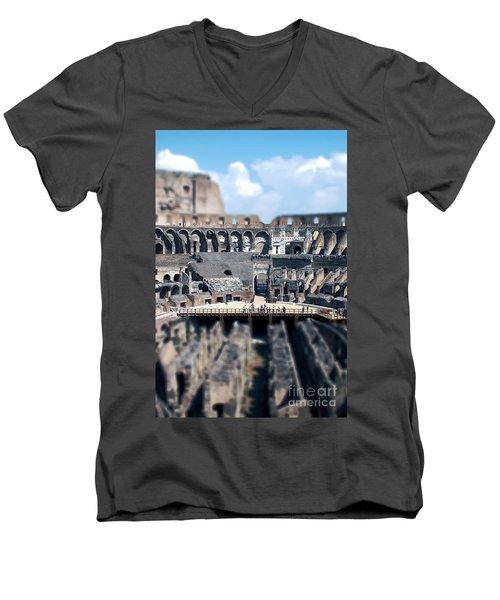 Inside The Colosseum Men's V-Neck T-Shirt