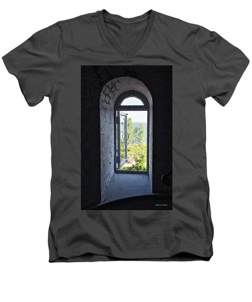 Inside The Lighthouse Men's V-Neck T-Shirt