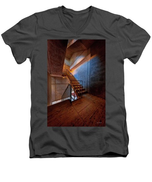 Inside The Stairwell Men's V-Neck T-Shirt