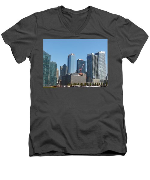 Insomnia City Men's V-Neck T-Shirt