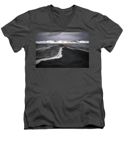 Inspirational Liquid Men's V-Neck T-Shirt