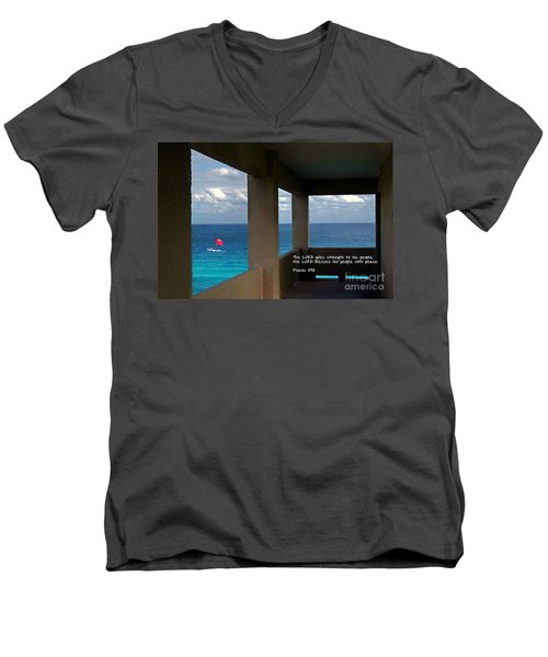 Inspirational - Picture Windows Men's V-Neck T-Shirt