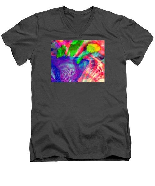 Inspired Flower Pot Men's V-Neck T-Shirt