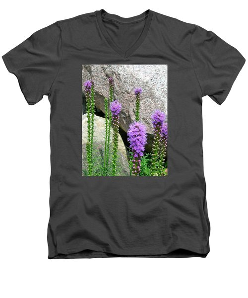 Men's V-Neck T-Shirt featuring the photograph Inspired by Randy Rosenberger
