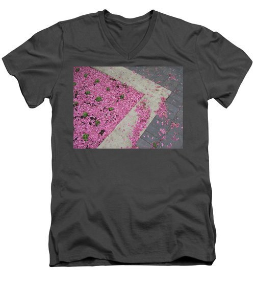 Men's V-Neck T-Shirt featuring the photograph Integrity by Mary Mikawoz