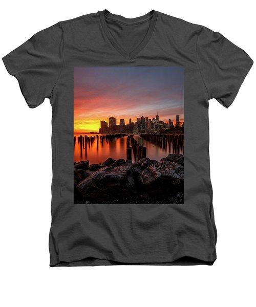 Intense  Men's V-Neck T-Shirt
