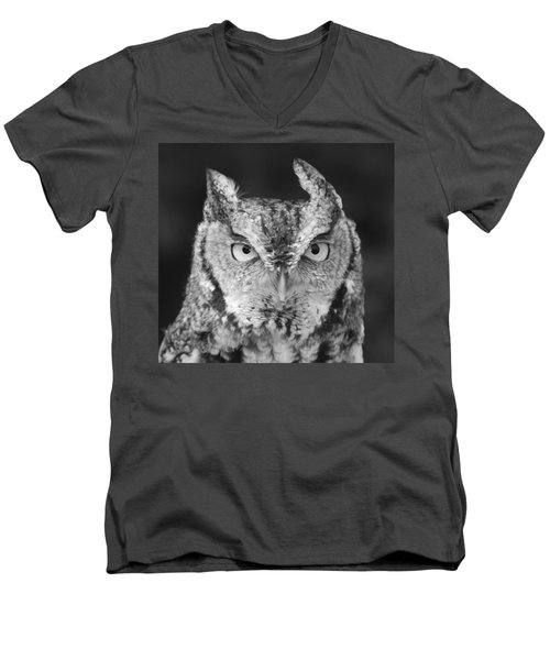Men's V-Neck T-Shirt featuring the photograph Intense Stare by Richard Bryce and Family